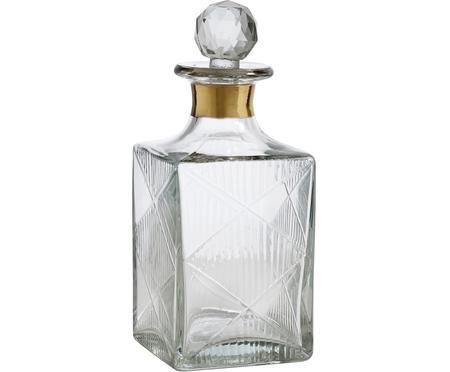 Carafe à décanter en verre avec bouchon Diamond