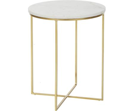 Table d'appoint ronde marbre Alys