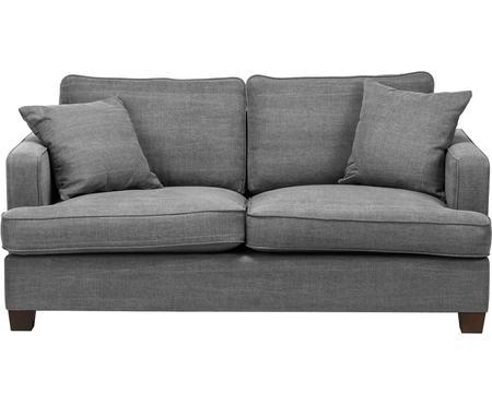 Grand canapé 2 places gris Warren