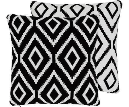 Housse de coussin 40x40 réversible tricot Chuck