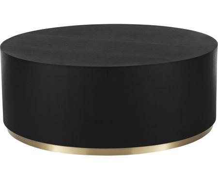 Grande table basse noire Clarice