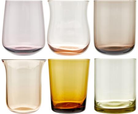Verre à eau en verre soufflé Desigual, 6élém.