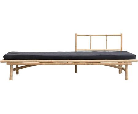 Lit de repos en bambou, avec rembourrage Mandisa