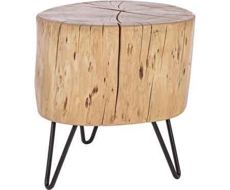 Table d'appoint en bois d'acacia Arthur