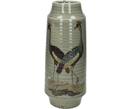 Grand vase Crane