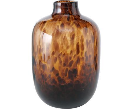 Vase en verre Leopard