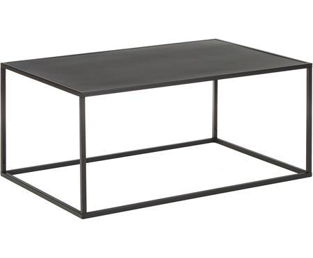 Table basse métal noir Newton