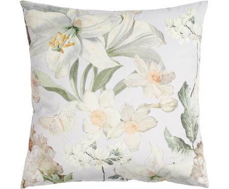Coussin en velours imprimé floral Rosalee