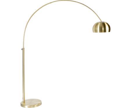 Lampadaire arc doré à hauteur ajustable Metal Bow