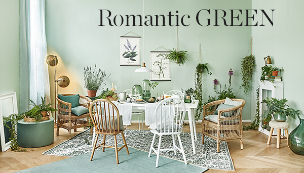 Romantic green