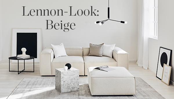 LENNON-LOOK : Beige