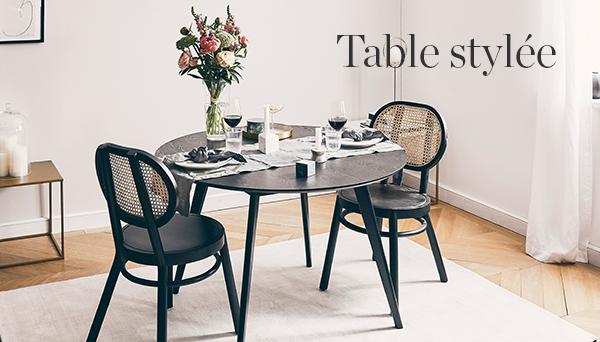 Table stylée