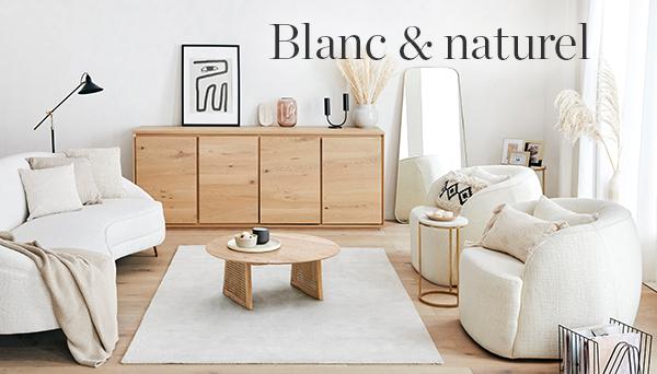 Blanc et naturel