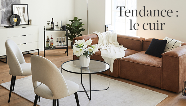 Tendance : le cuir