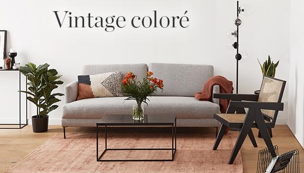 Vintage coloré