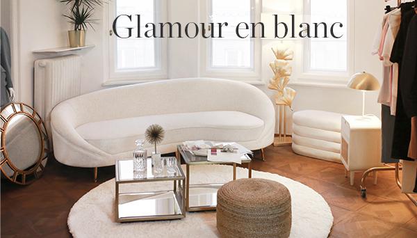 Glamour en blanc